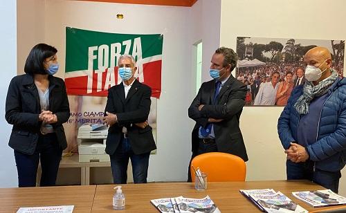 ALESSANDRO BATTILOCCHIO, COORDINATORE PROVINCIALE, PRESENTA IL NUOVO SEGRETARIO CITTADINO DI FORZA ITALIA