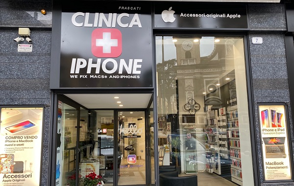 FRASCATI. CLINICA IPHONE